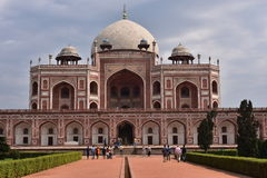 Famous Humayun's Tomb in Delhi, India. It is the tomb of the Mughal Emperor Humayun Royalty Free Stock Images