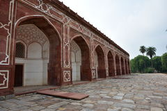 Famous Humayun's Tomb in Delhi, India. It is the tomb of the Mughal Emperor Humayun Royalty Free Stock Photo