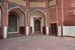 Famous Humayun's Tomb in Delhi, India. It is the tomb of the Mughal Emperor Humayun Stock Photo