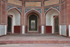 Famous Humayun's Tomb in Delhi, India. It is the tomb of the Mughal Emperor Humayun Stock Photos