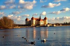 Famous hunting manor Moritzburg Stock Photography