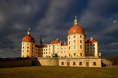 Famous hunting manor Moritzburg Royalty Free Stock Photo