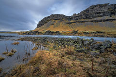 Famous icelandic popular tourist destination and hiking hub in Iceland's Stock Photography