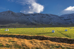 Famous icelandic popular tourist destination and hiking hub in Iceland's Royalty Free Stock Photography