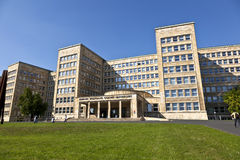 Famous IG farben house, former used as headquarter of the US Arm Stock Image