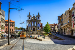 Famous Iglesia de San Ildefonso Church in Oporto Royalty Free Stock Photo