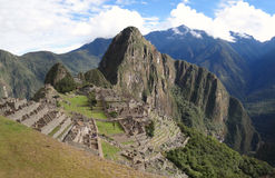 Famous Inca city Machu Picchu Stock Images