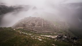The famous inca ruins of machu picchu in peru Stock Photography