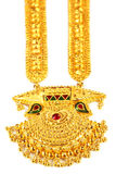 Famous Indian bridal Sita Har or Sita Necklace Royalty Free Stock Photo
