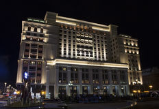 Famous, international Four Seasons Hotel Stock Image