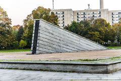 Famous Invalidenpark with invaliden wall in Berlin Royalty Free Stock Image