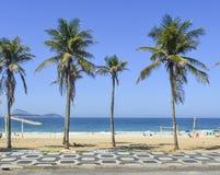 Famous Ipanema beach sidewalk in Rio de Janeiro, Brazil. Famous Ipanema beach sidewalk pattern in Rio de Janeiro, Brazil stock photos
