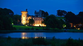 Famous irish castle hotel,west coast ireland Stock Images