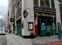 Famous Irish restaurant,The Black Rose,open for business,downtown Boston,Mass,2014 Stock Photo