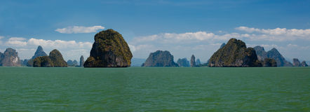 Famous Islands of Thailand stock photography