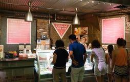 Famous Italian ice cream shop L`Arte Del Gelato Stock Photos
