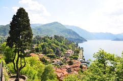 Famous Italian Lake Como Royalty Free Stock Photos