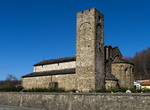 The Pieve of Sorano, Filattiera - church in Tuscany Royalty Free Stock Image