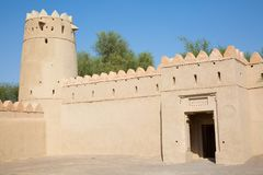 Jahili fort Royalty Free Stock Image