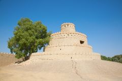 Jahili fort royalty free stock photo
