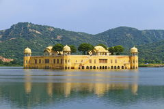 Jaipur Water Palace Royalty Free Stock Photography