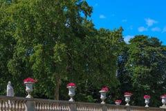 Famous Jardins Luxembourg, Paris Royalty Free Stock Photo