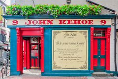 John Kehoe`s. The famous John Kehoe`s is a traditional Irish pub in Dublin, Ireland Stock Photography