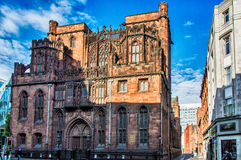 Famous John Rylands Library. Royalty Free Stock Photography
