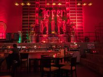 The famous Jopenkerk bar in the old Reformed Church. royalty free stock images