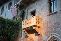 Famous Juliet balcony Royalty Free Stock Photography