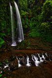 Stony Jumog Waterfall Central Java Stock Images