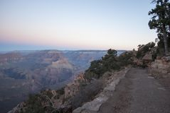 Sunrise at Kaibab trail, Grand Canyon, Arizona,USA Stock Image