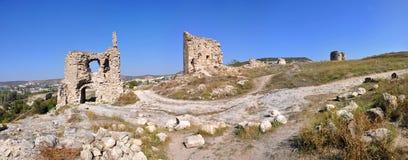Famous Kalamita (Inkerman) fortress Stock Image
