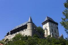 Famous Karlštejn Castle Stock Photo