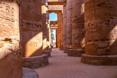Free Famous Karnak Temple Complex Of Amon Ra In Luxor Royalty Free Stock Photos - 148382478