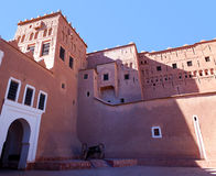Famous Kasbah Taourirt in eastern Ouarzazate, Morocco Royalty Free Stock Image