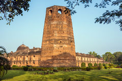 Famous Katra Mosque. The famous Katra mosque where the tomb of the first Nawab of Bengal, Murshid Quli Khan, is buried in Murshidabad stock photography