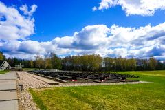 Khatyn Memorial Complex Monuments royalty free stock images