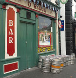 Famous kilkenny bar, southern ireland Royalty Free Stock Photos