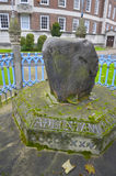 Famous king pronounciation stone in Kingston, London Stock Photography