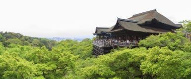 The famous Kiyomizu dera Temple Royalty Free Stock Photos