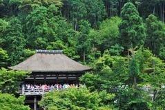 Famous Kiyomizu Temple Stock Photography