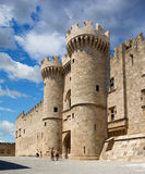 Famous Knights Grand Master Palace Stock Images