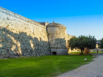 The famous Knights Grand Master Palace in Rhodes Greece Royalty Free Stock Photos