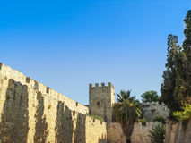 The famous Knights Grand Master Palace in Rhodes Greece Royalty Free Stock Photo