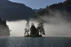 Lake Königssee near Berchtesgaden, South-Bavaria, Germany Royalty Free Stock Photo