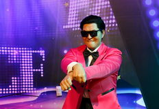Korean singer Psy Royalty Free Stock Photography