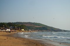 Famous Kovalam Beach. Kerala, India. royalty free stock image
