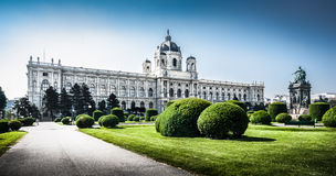 Famous Kunsthistorisches Museum (Museum of Art History) in Vienna, Austria Royalty Free Stock Images