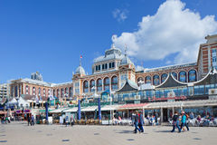 Famous Kurhaus Hotel at Scheveningen boulevard, Netherlands Stock Photo